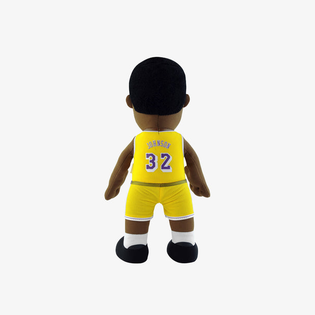 "Bleacher Creatures Legend Los Angeles Lakers Magic Johnson 10"" Plush Figure - Gold"