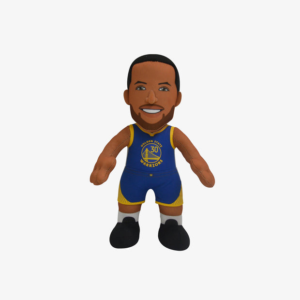 "Bleacher Creatures Superstar Golden State Warriors Stephen Curry 10"" Plush Figure - Blue"