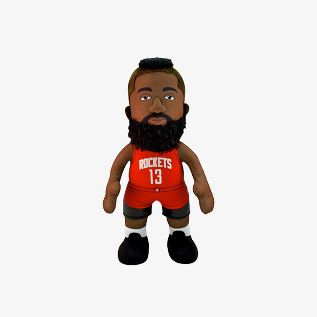 "Bleacher Creatures Superstar Houston Rockets James Harden 10"" Plush Figure - Scarlet"