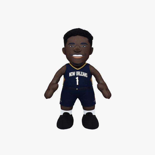 "Bleacher Creatures Superstar New Orleans Pelicans Zion Williamson 10"" Plush Figure - White"