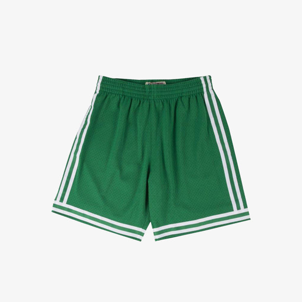 Boston Celtics 85-86 HWC Road Swingman Shorts - Green