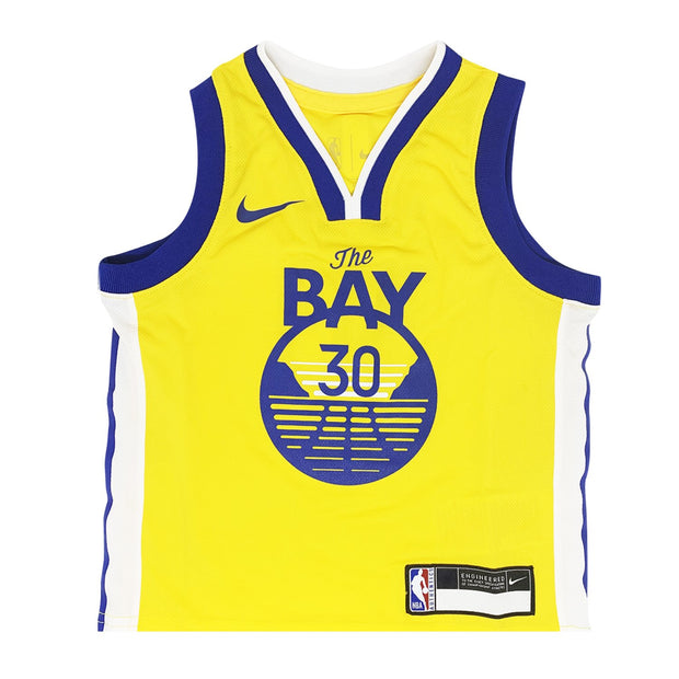 Stephen Curry Golden State Warriors Statement Edition Kids Swingman Jersey