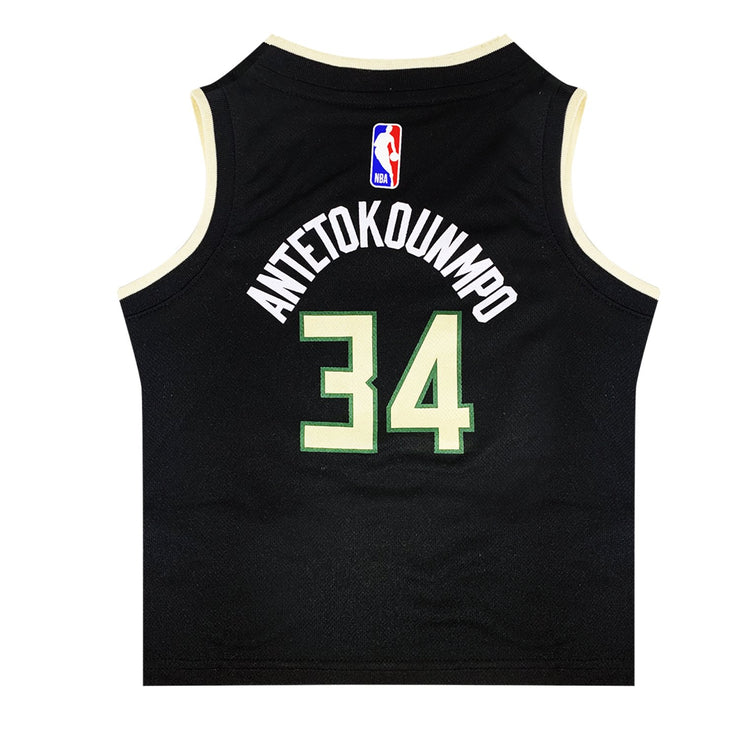 Giannis Antetokounmpo Milwaukee Bucks Statement Edition Kids Swingman Jersey