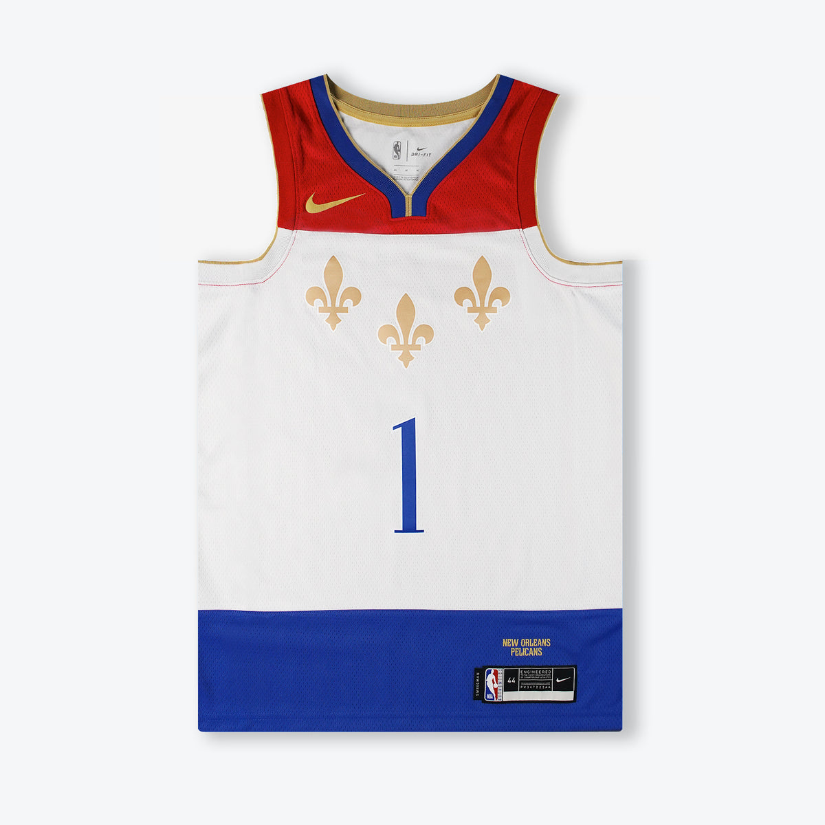 Zion Williamson New Orleans Pelicans City Edition Swingman Jersey - White
