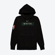 Boston Celtics Courtside NBA Pullover Hoodie - Black