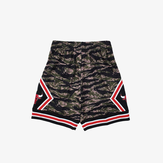 Chicago Bulls Tiger Camo HWC Swingman Shorts