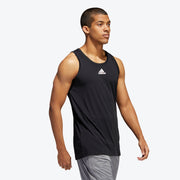 Adidas Heathered Tank Top - Black