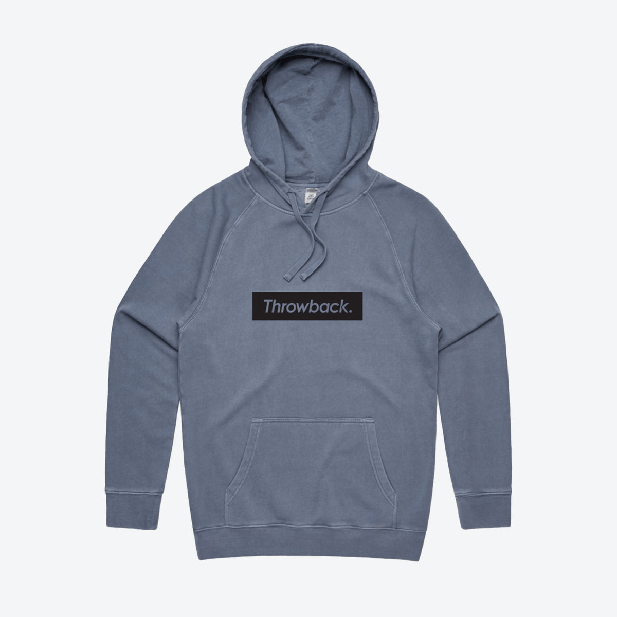 Box Logo Hood - Faded Blue