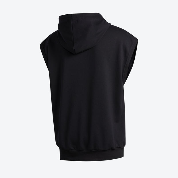 Adidas D.O.N. Issue #2 Sleeveless Hoodie - Black
