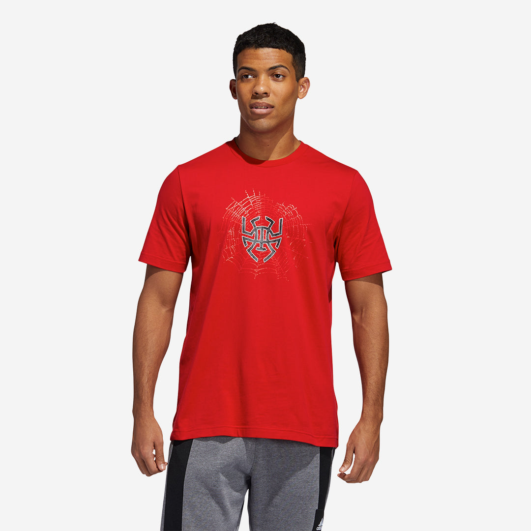 Adidas D.O.N. Issue #2 Logo T-Shirt - Red