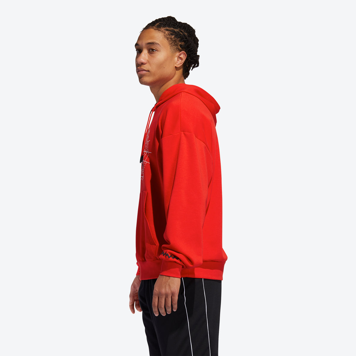 Adidas D.O.N. Issue #2 Pullover Hoodie - Red