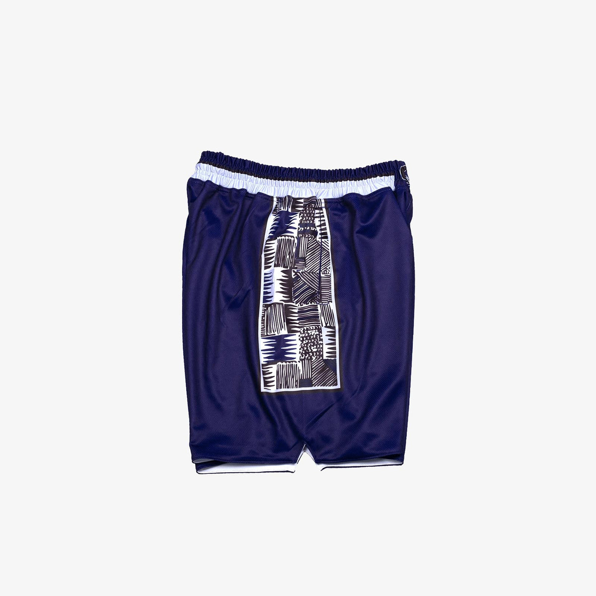 Georgetown 1995-1996 Retro College Basketball Shorts - Navy