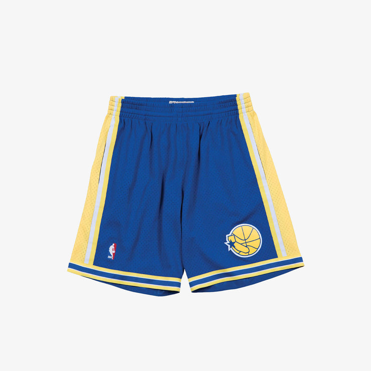 Golden State Warriors 95-96 HWC Swingman Shorts - Royal