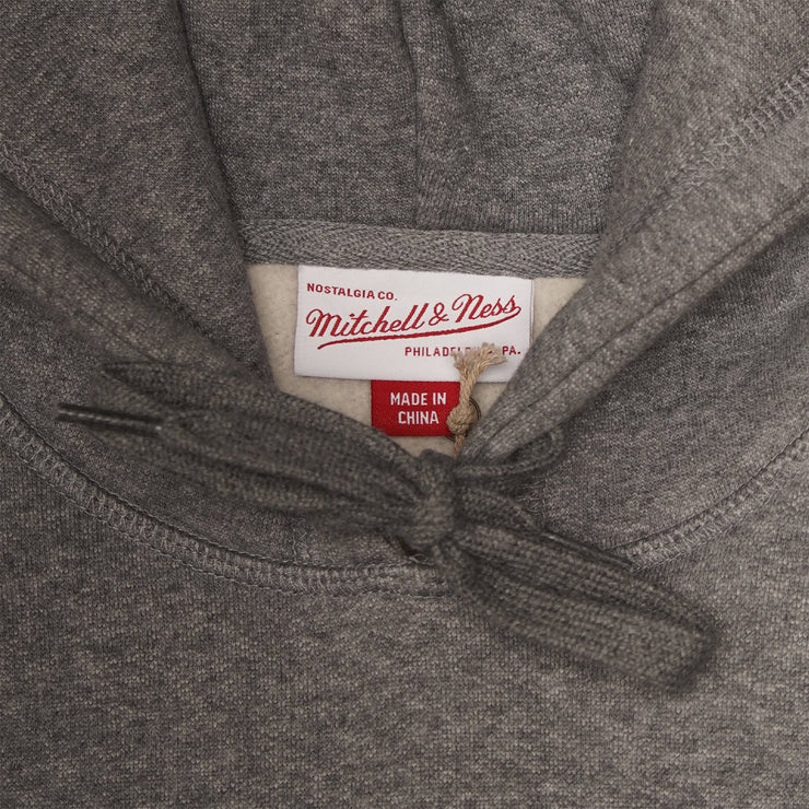Mitchell and Ness Classic Hoodie - Grey