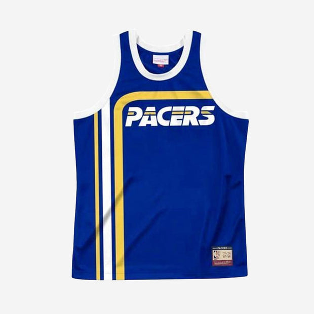 Indiana Pacers 71/87 NBA Team Heritage Tank - Royal