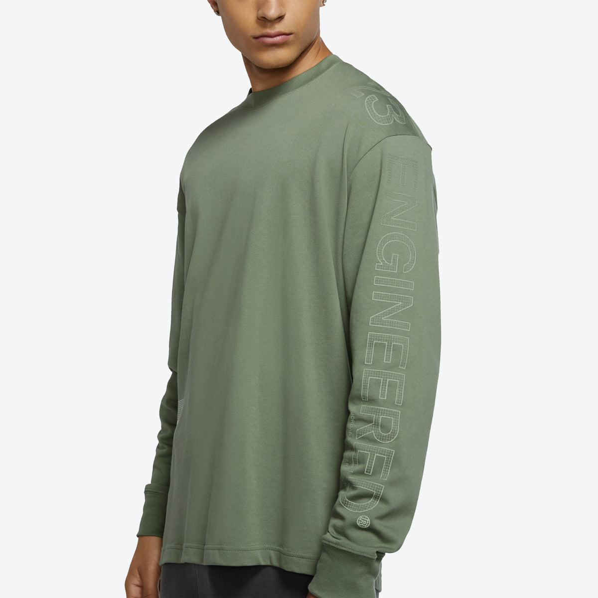 Jordan 23 Engineered Long Sleeve T-Shirt - Sage Green