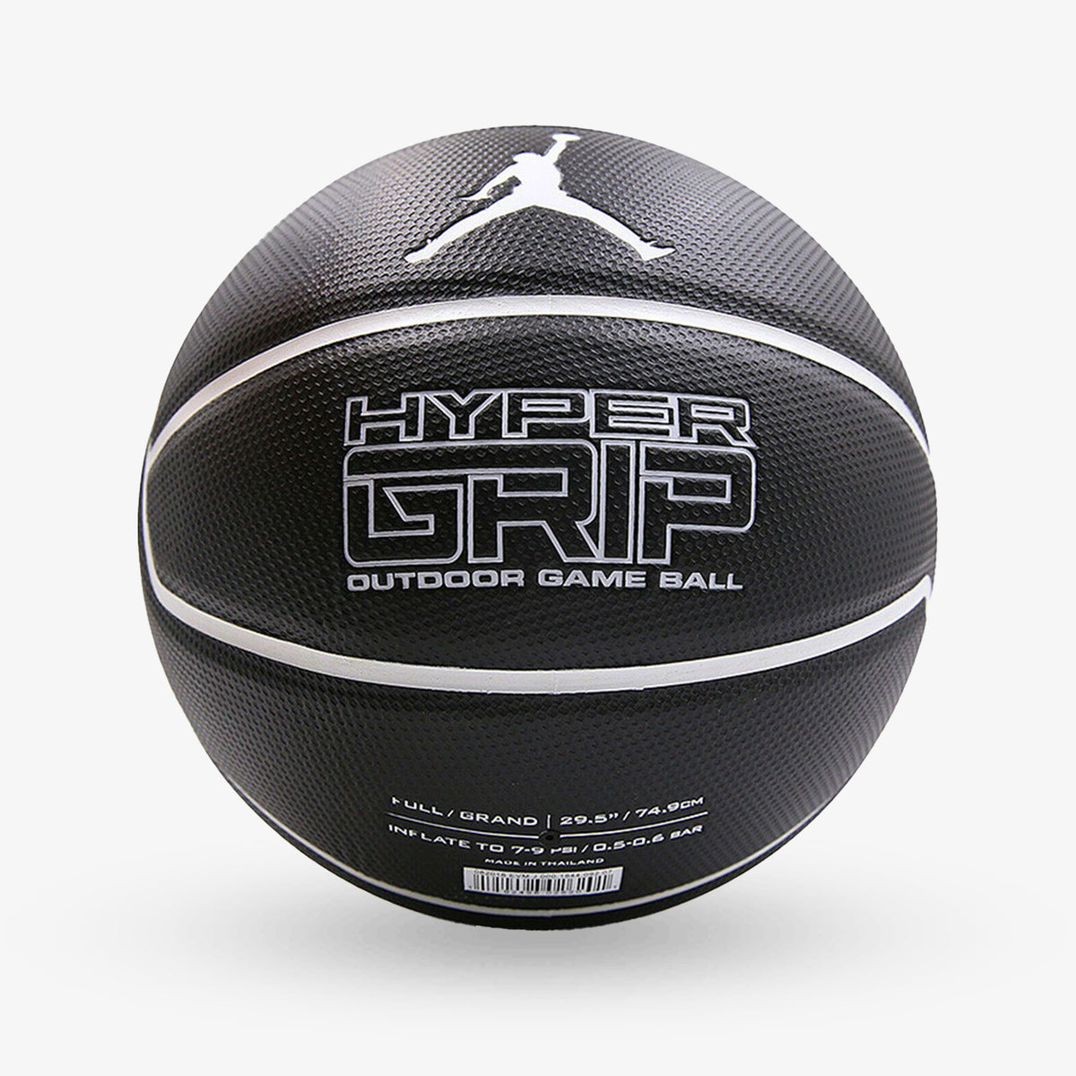 Jordan Hyper Grip Basketball - Black - Size 7