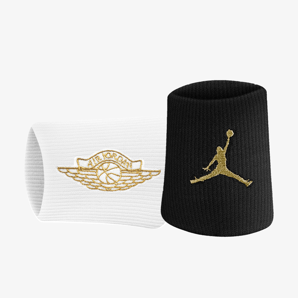 Jordan Jumpman Wings X Wristbands - Black/White/Gold