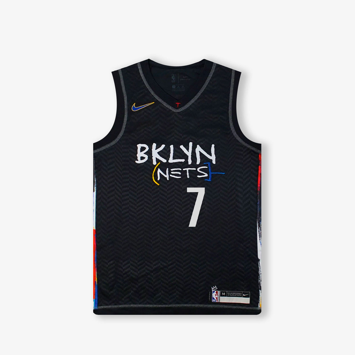 Kevin Durant Brooklyn Nets City Edition Youth Swingman Jersey - Black