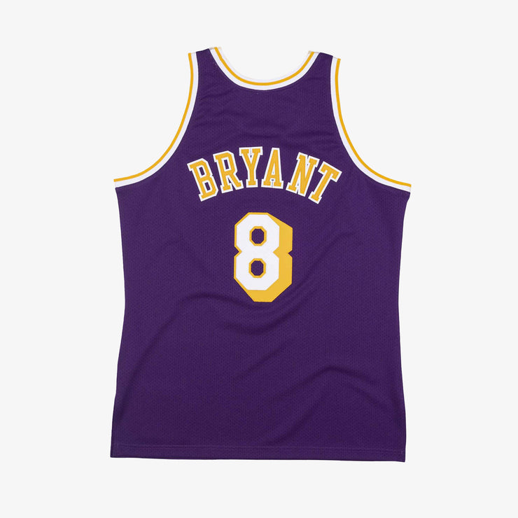 Kobe Bryant Los Angeles Lakers Road Western All Stars 1998 Authentic Hardwood Classic Jersey - Purple