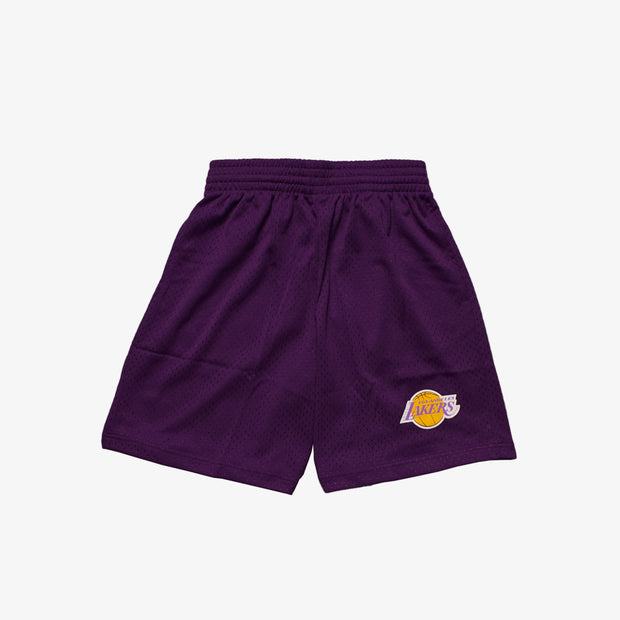 Los Angeles Lakers Mesh Court Shorts - Purple