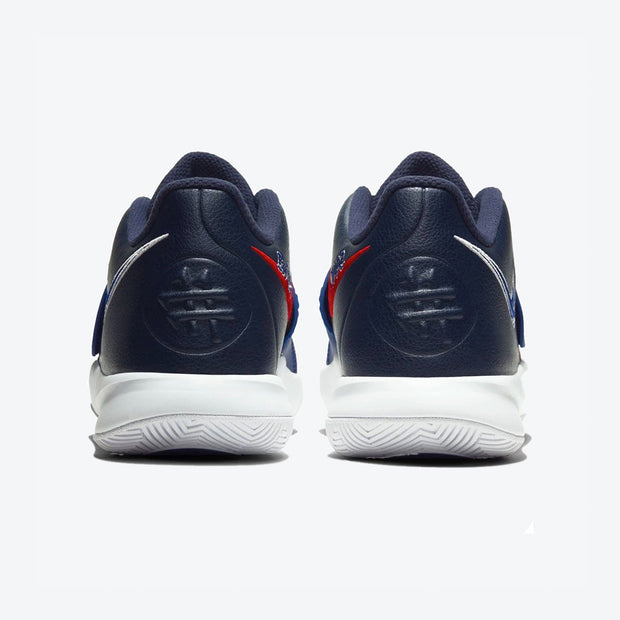 Kyrie Flytrap III (GS) - Navy/Red/White