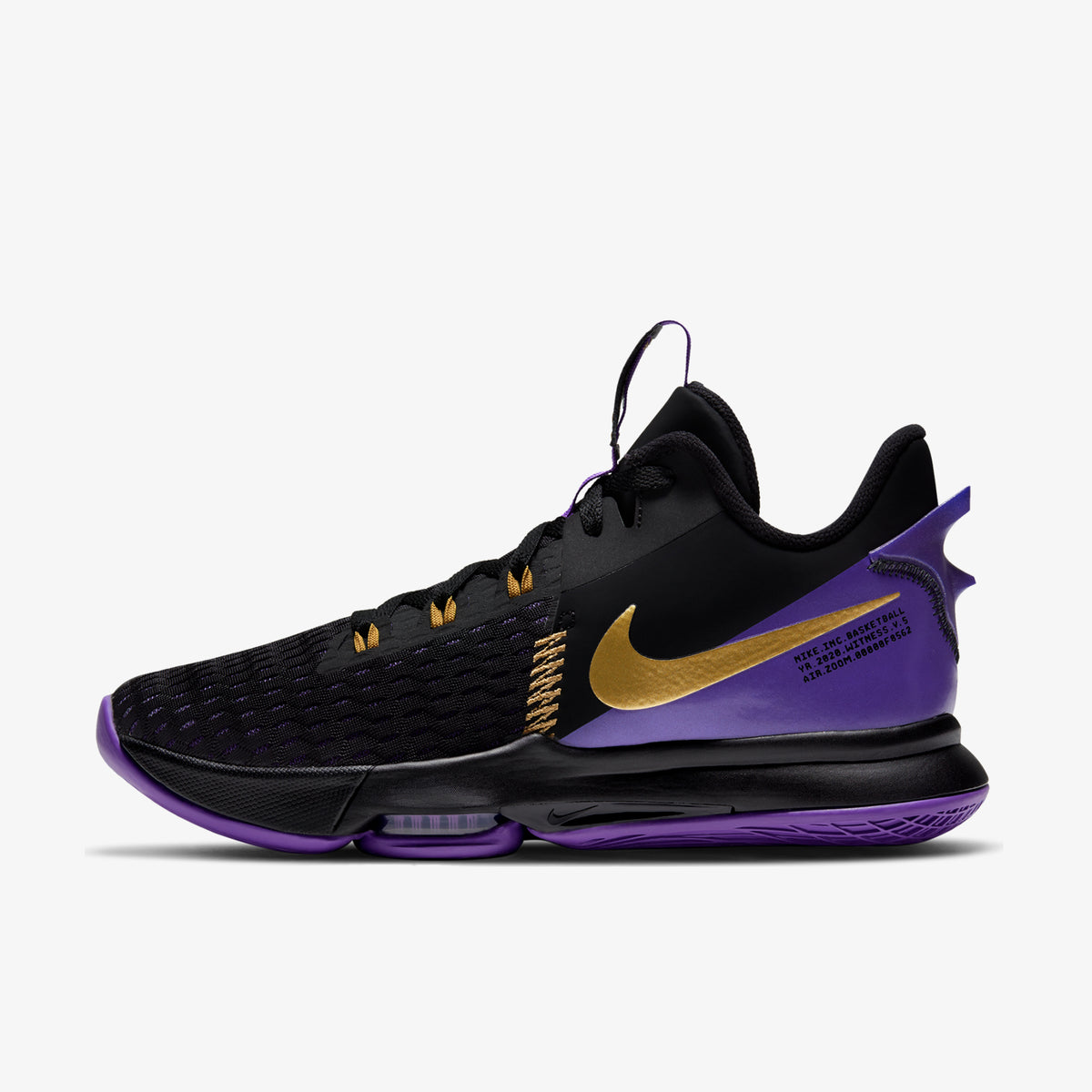 LeBron Witness V - 'Fierce Purple'