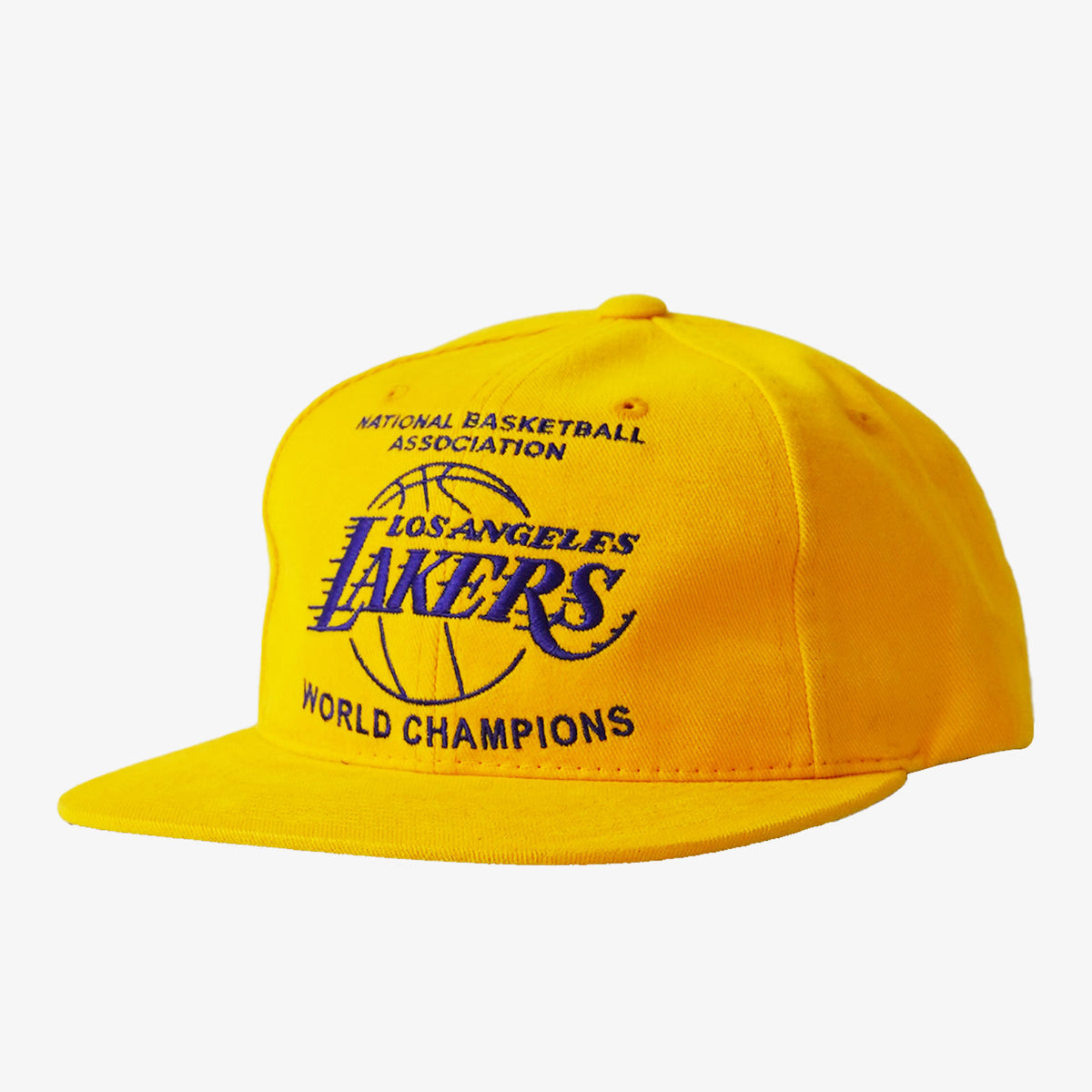 Los Angeles Lakers Champions Deadstock Snapback - Yellow