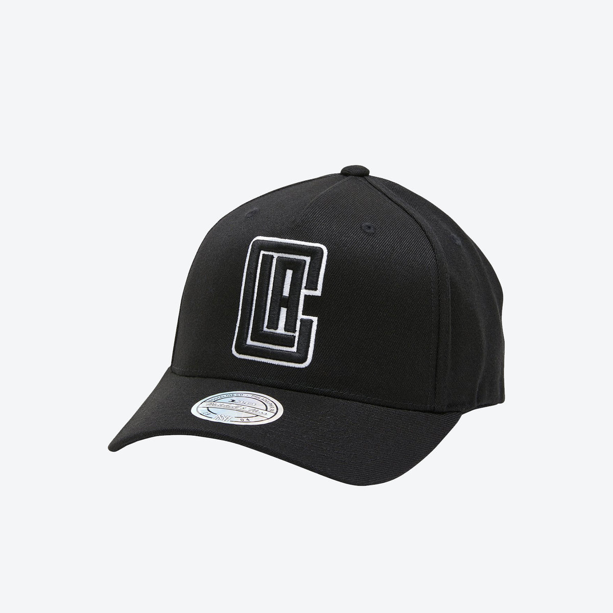 Los Angeles Clippers Black And White Logo 110 Snapback