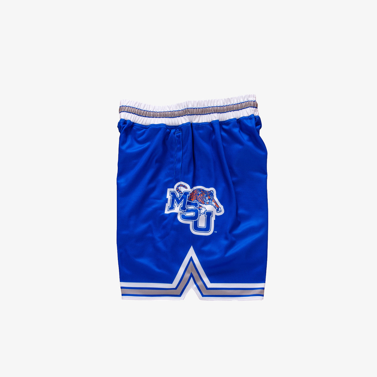 Memphis State 1991-1992 Retro College Basketball Shorts - Blue
