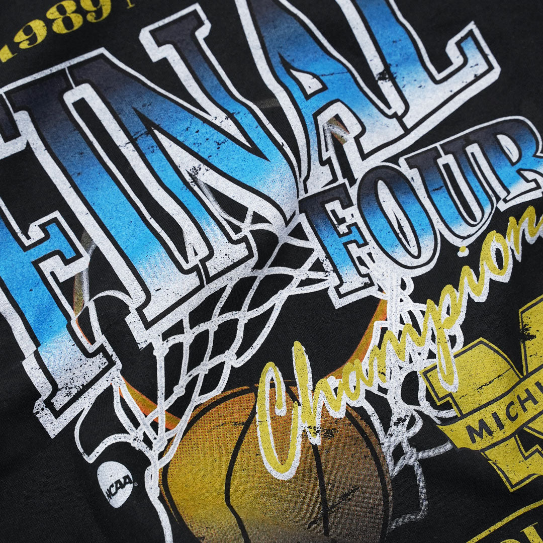 Michigan NCAA Final Four Crew Sweatshirt - Vintage Black