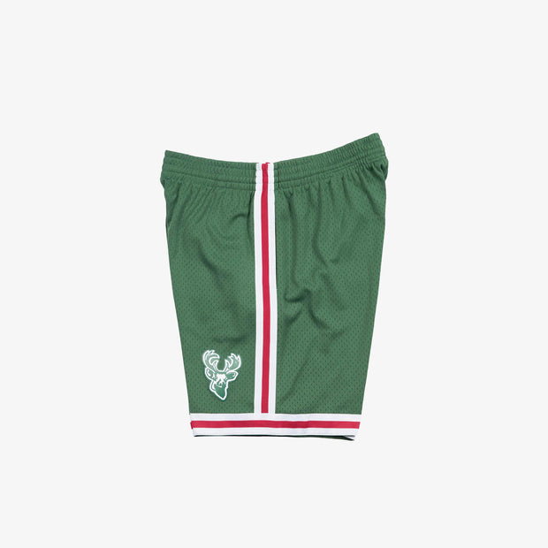 Milwaukee Bucks 71-72 HWC Swingman Shorts - Green