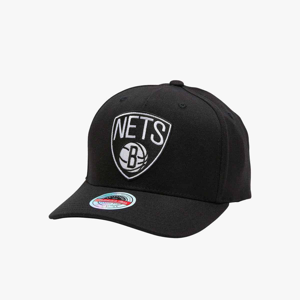 Brooklyn Nets Colour Team Logo Classic Red Snapback