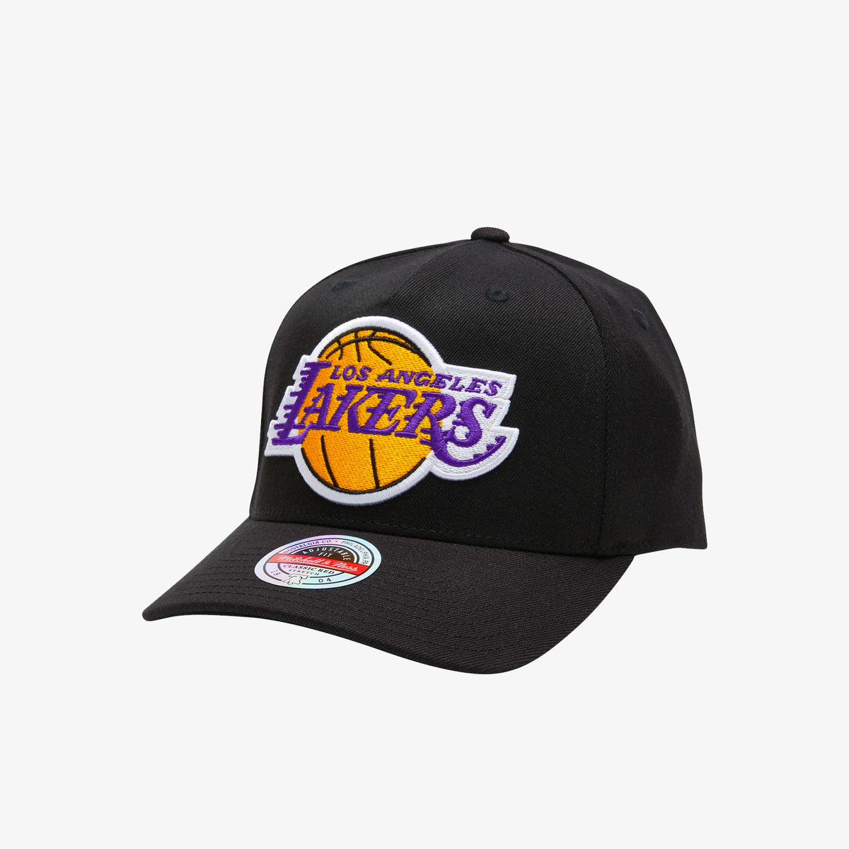 Los Angeles Lakers Colour Team Logo Classic Red Snapback
