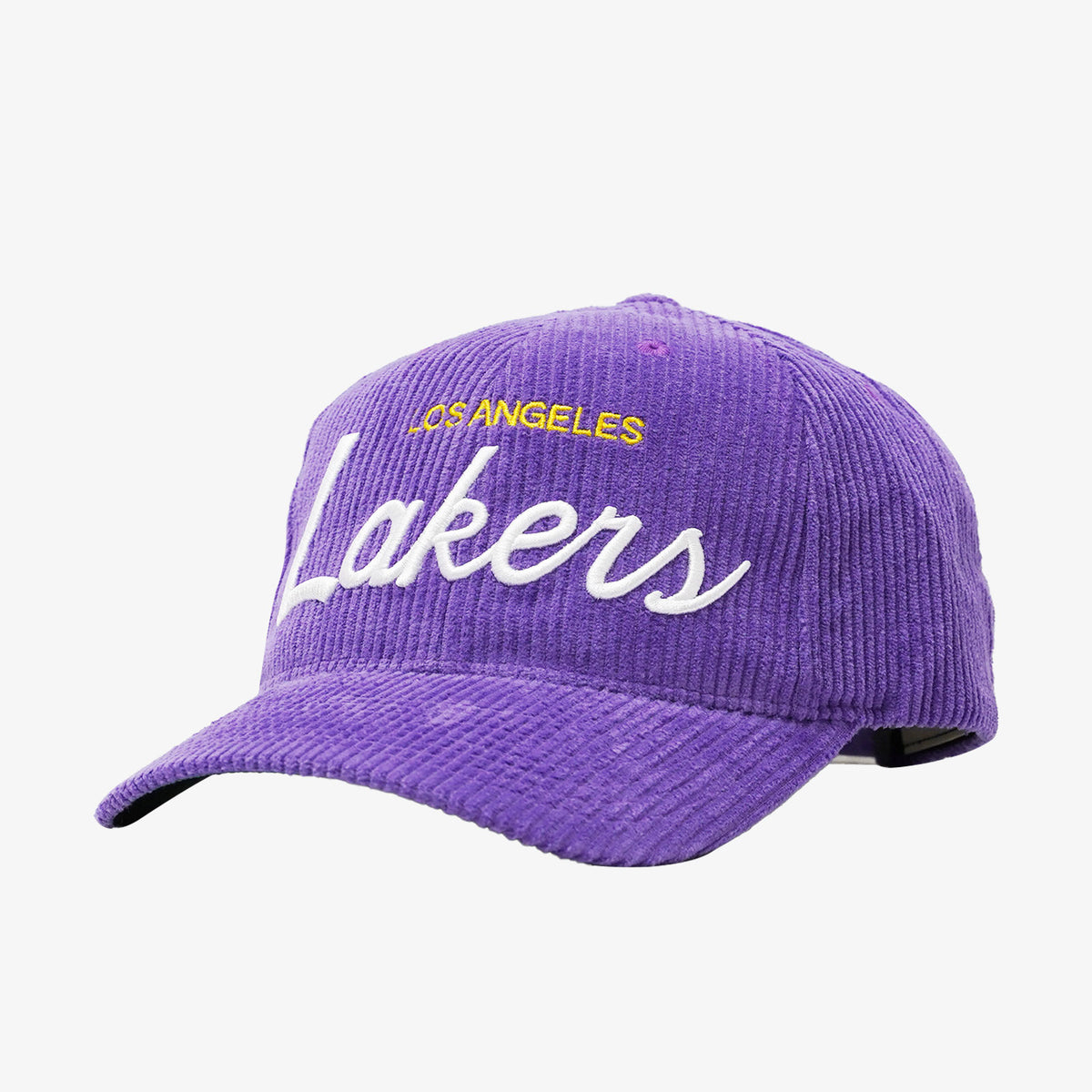 Los Angeles Lakers Montage Deadstock Snapback - Purple