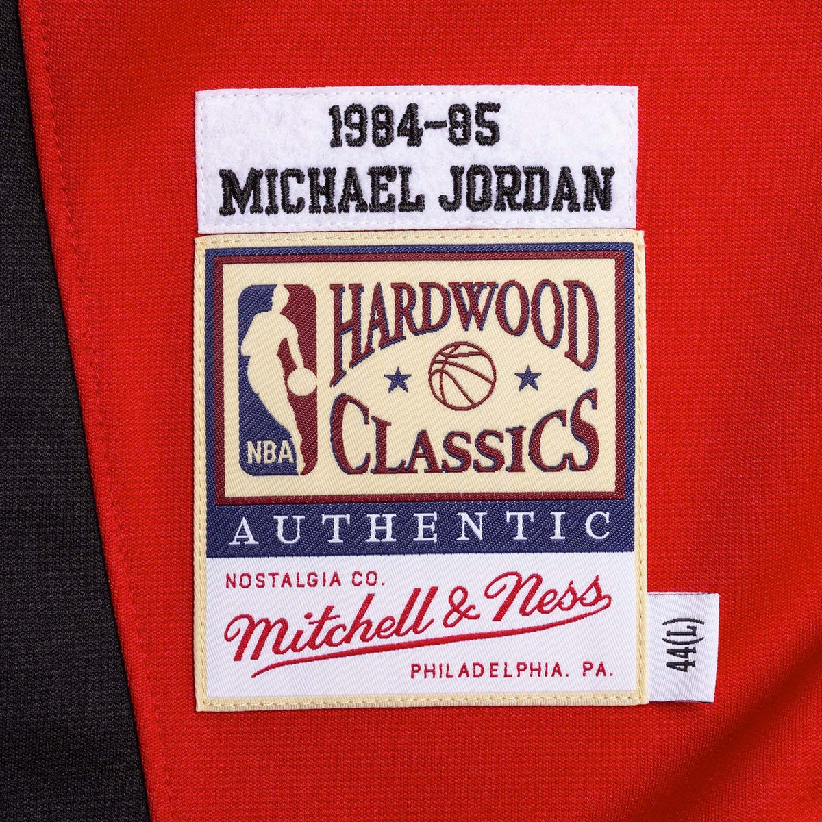 Michael Jordan Chicago Bulls 1984-85 Authentic Shooting Shirt - Red