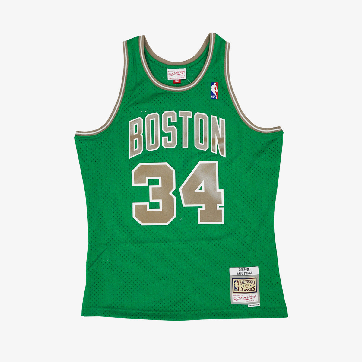 Paul Pierce Boston Celtics 07-08 St Patrick's HWC Swingman Jersey - Green