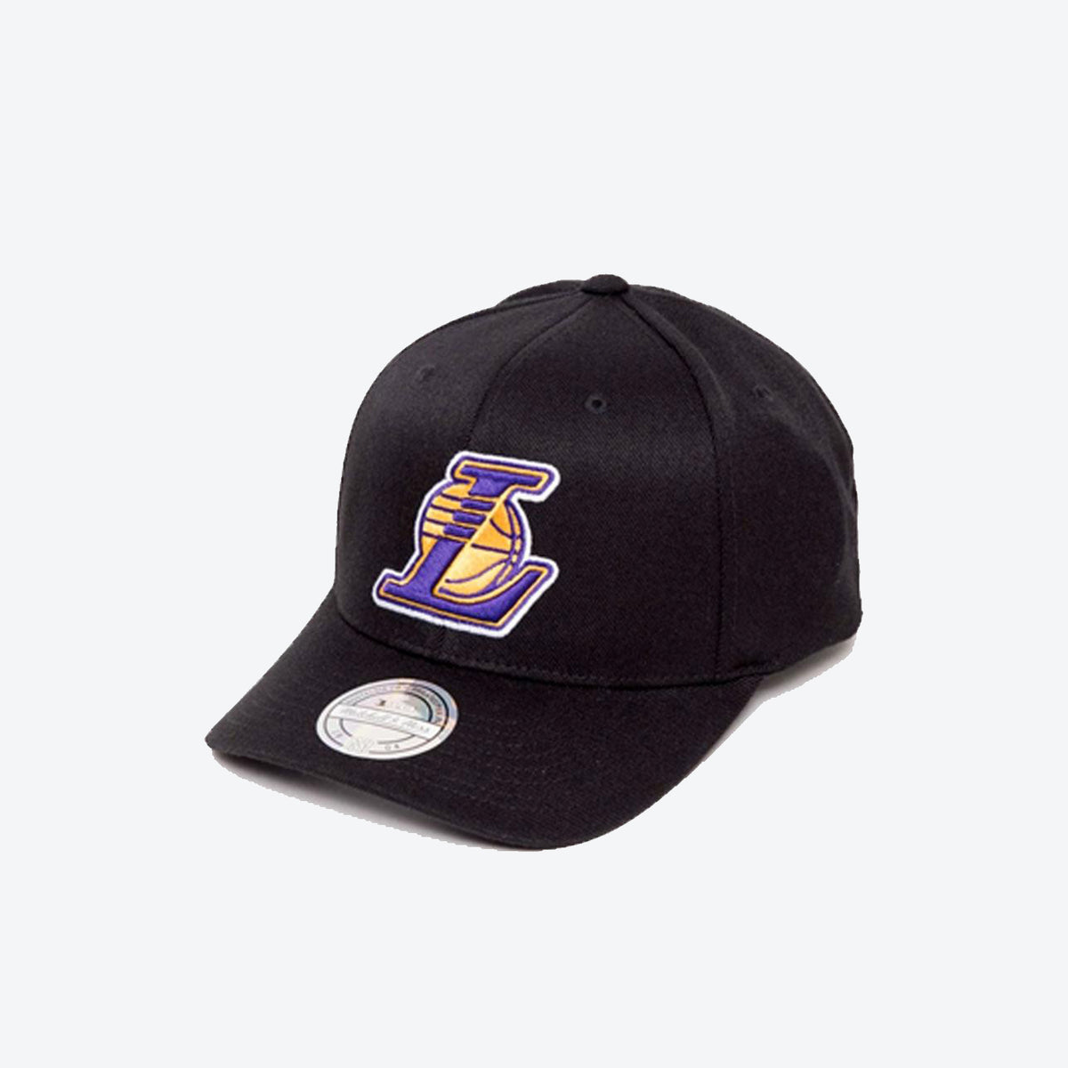 Mitchell & Ness NBA Los Angeles Lakers Flexfit 110 Wool HWC Logo Snapback