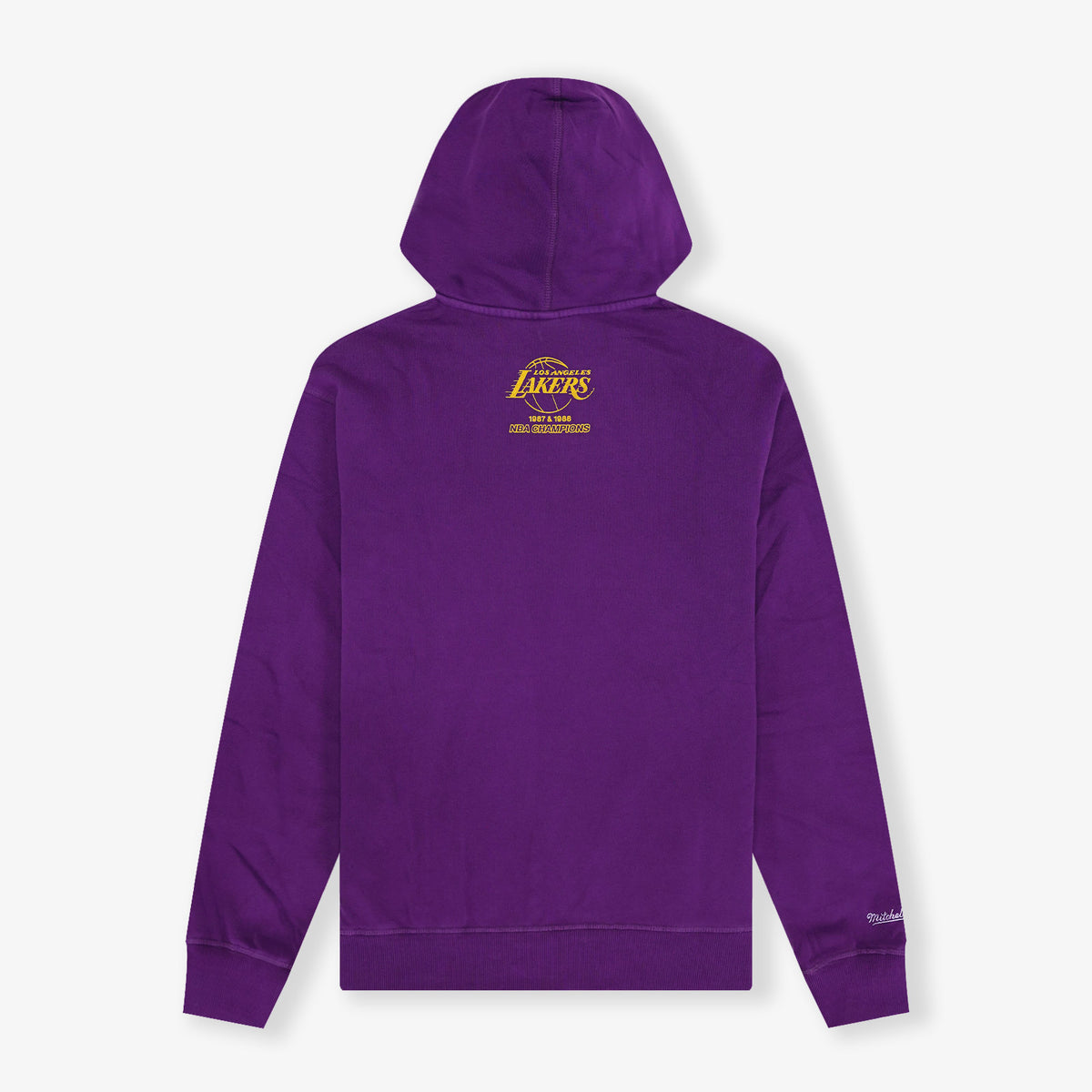 Los Angeles Lakers Vintage Logo Hoodie - Faded Purple