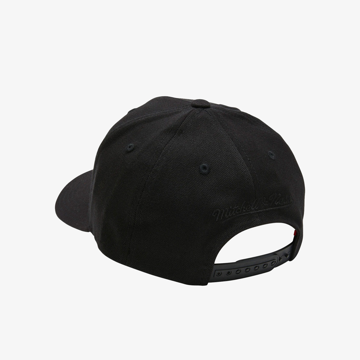 Los Angeles Clippers All Black Logo Classic Red Snapback
