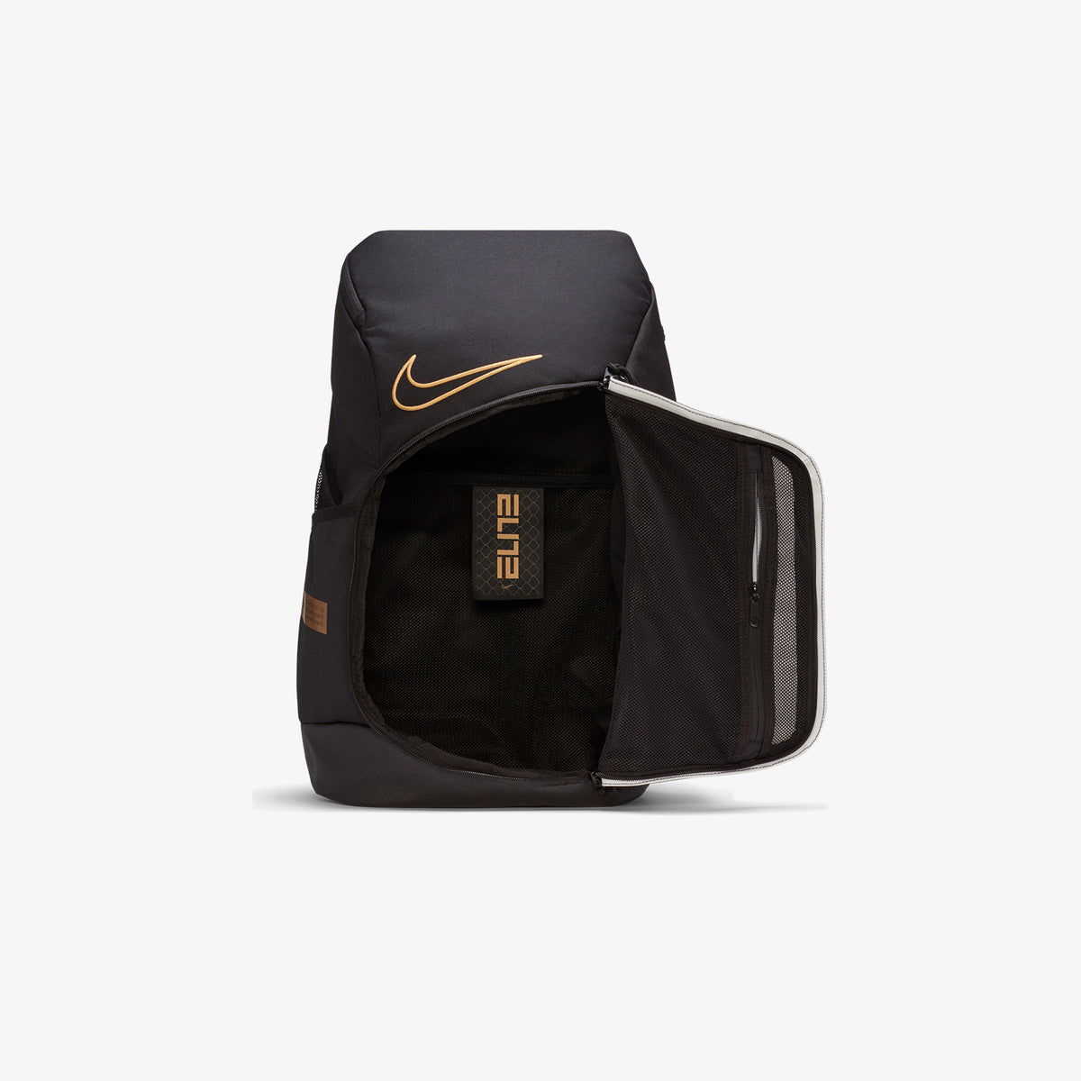 Nike Elite Pro Basketball Backpack - Black/Gold