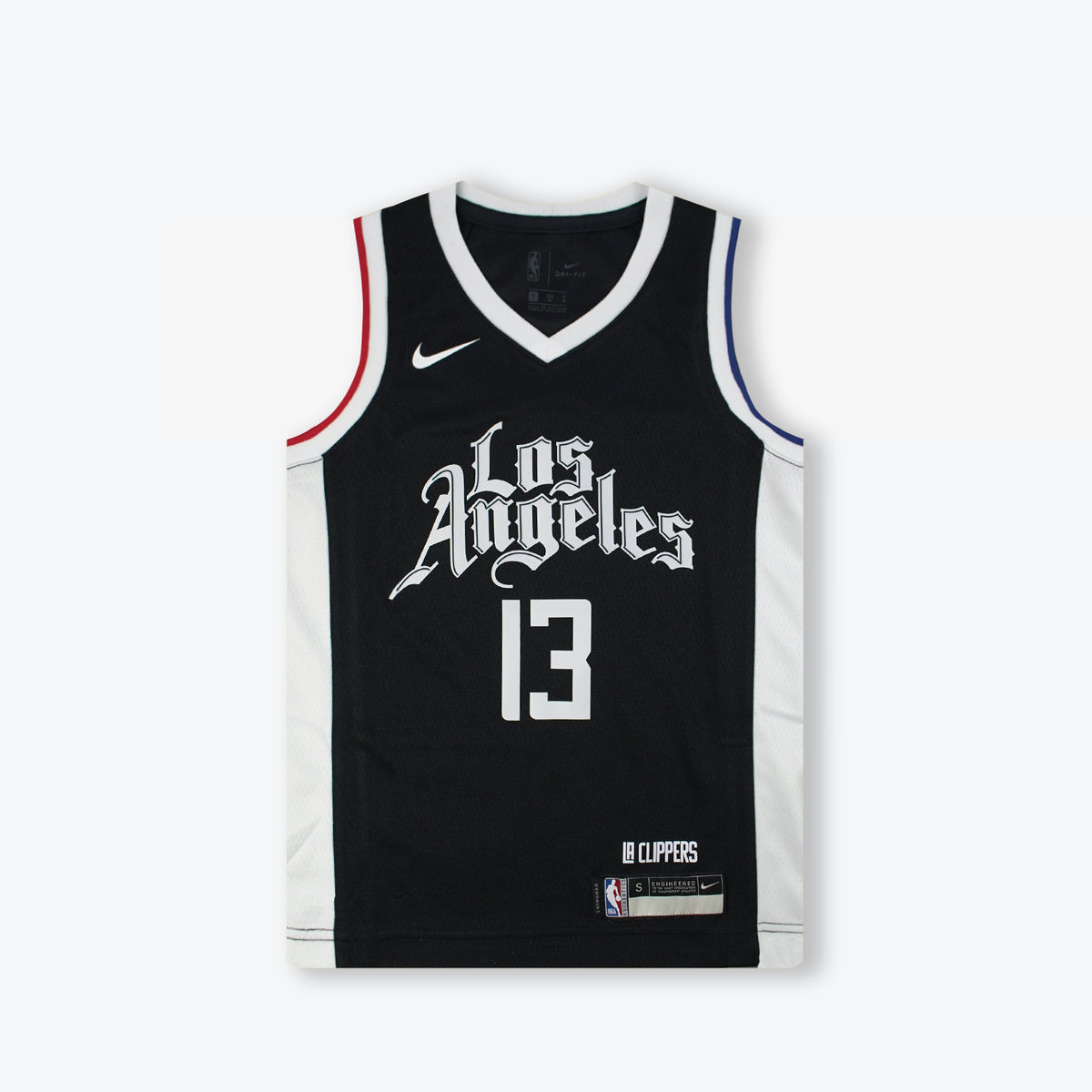 Paul George Los Angeles Clippers City Edition Youth Swingman Jersey - Black