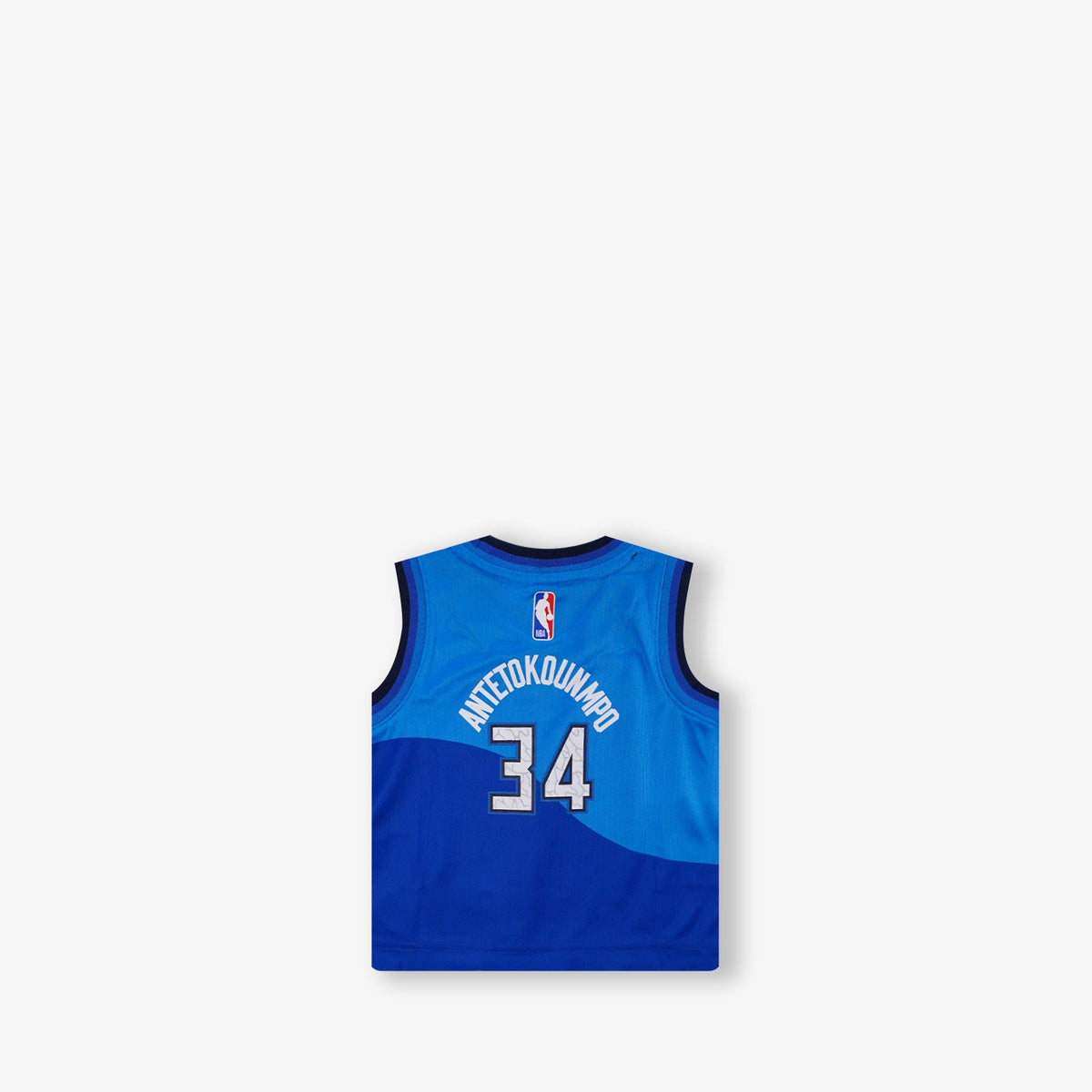 Giannis Antetokounmpo Milwaukee Bucks City Edition Infant Swingman Jersey - Blue