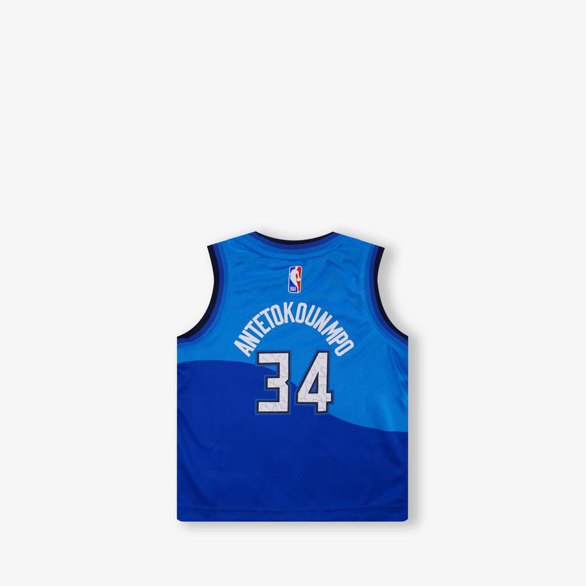 Giannis Antetokounmpo Milwaukee Bucks City Edition Toddler Swingman Jersey - Blue