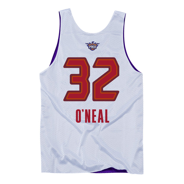 Phoenix Suns All Star 09 Shaquille O'Neal Reversible Tank Jersey - White/Purple