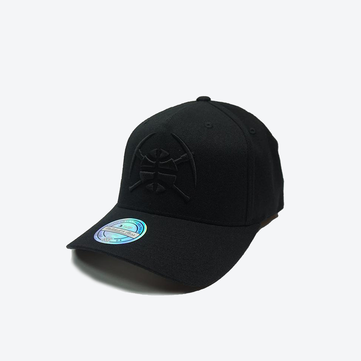 Denver Nuggets All Black Logo 110 Snapback