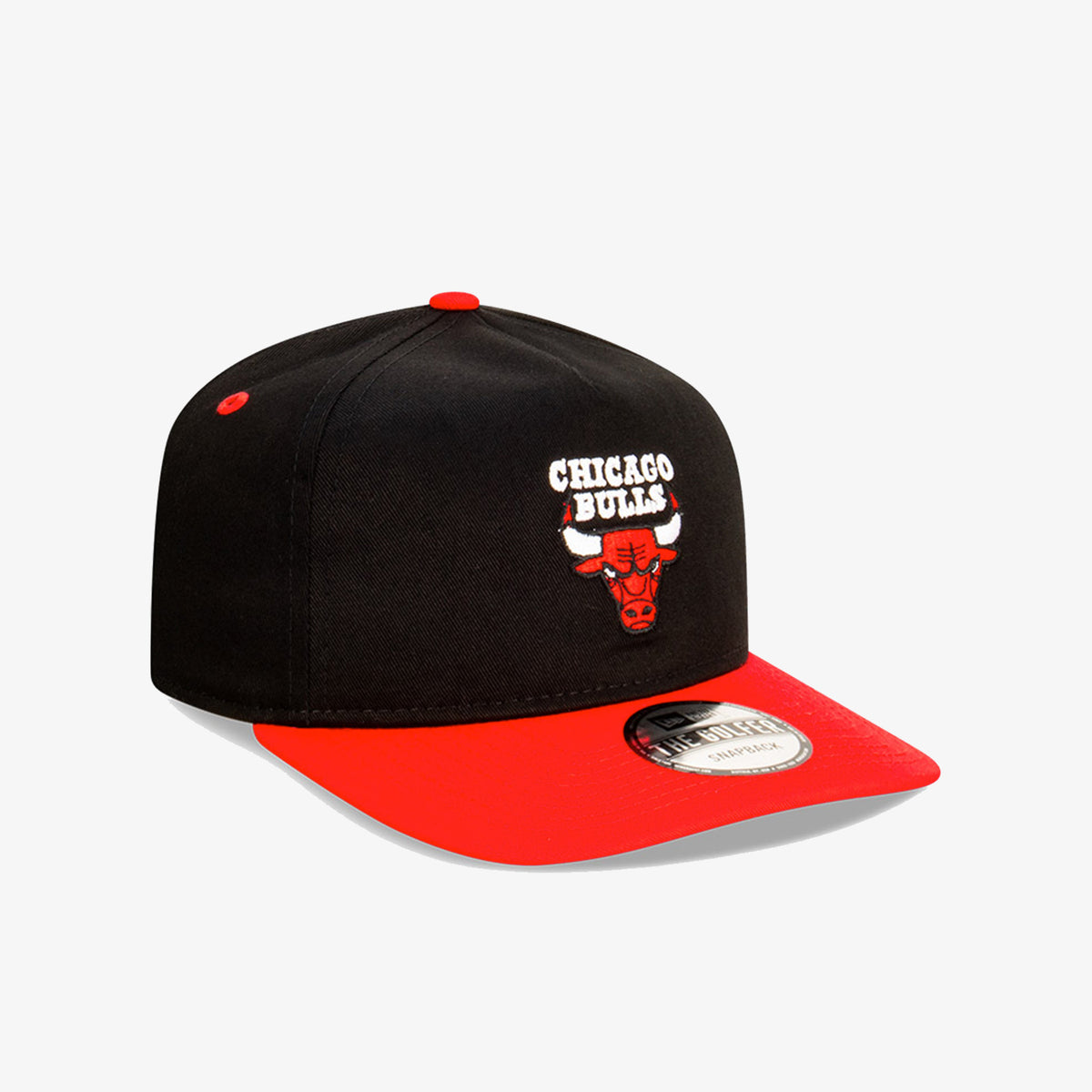 Chicago Bulls Golfer Snapback - Black