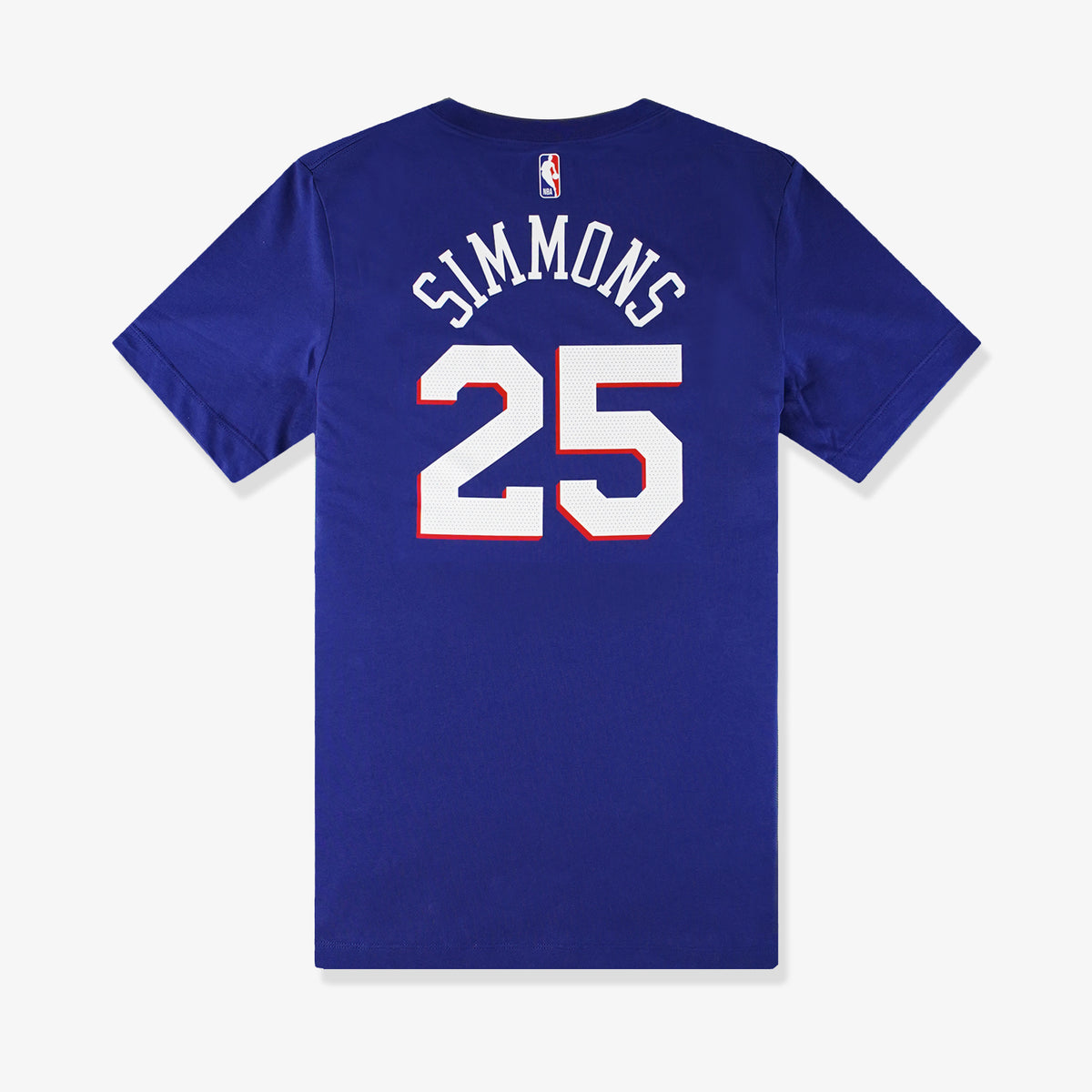 Ben Simmons Philadelphia 76ers Name and Number T-Shirt - Blue