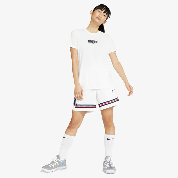 "Nike Dri-Fit Women's ""Meant to Fly"" T-Shirt - White"