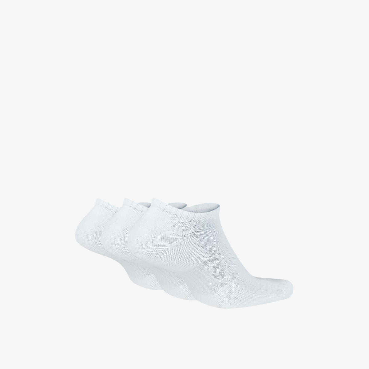 Nike Everyday Cushion No-Show Socks (3 Pack) - White